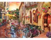 Puzzle Toskania na rowerze