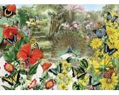 Puzzle Paw i motyle