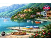 Puzzle Jezioro Como, Włochy