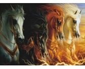 Puzzle Czterej jeźdźcy Apokalipsy