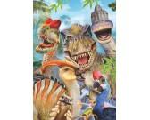 Puzzle Wesołe dinozaury