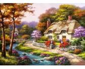 Puzzle Wiosna we wsi