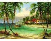 Puzzle Tropikalny raj