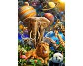 Puzzle Zwierzęta w kosmosie