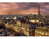 Puzzle Paryż w nocy