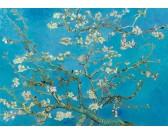 Puzzle Kwitnące drzewo migdałowe