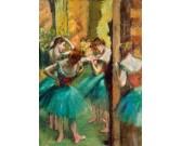 Puzzle Różowo-zielona tancerka
