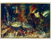 Puzzle Alegoria ognia
