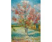 Puzzle Kwitnące drzewo brzoskwiniowe