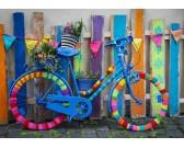 Puzzle Kolorowy rower
