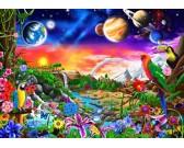 Puzzle Kosmiczny raj