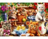 Puzzle Kocięta