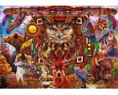 Puzzle Totem zwierzęcy