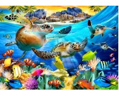 Puzzle Żółwie morskie