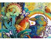 Puzzle Kolorowe ptaki