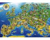 Puzzle Zabytki Europy