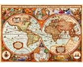 Puzzle Historyczna mapa
