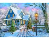 Puzzle Boże Narodzenie w domu