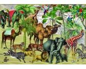 Puzzle Zwierzęta na pustyni