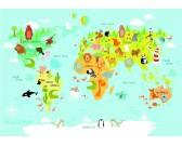 Puzzle Dziecięca mapa świata - PUZZLE DLA DZIECI