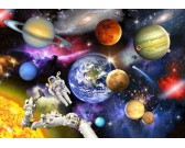 Puzzle Wszechświat - PUZZLE DLA DZIECI