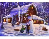 Puzzle Radość z Bożego Narodzenia