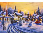 Puzzle Bożonarodzeniowa opowieść
