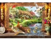 Puzzle Martwa natura z kaczkami