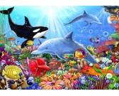 Puzzle Podwodne życie