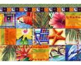 Puzzle Tropikalna mozaika