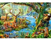 Puzzle Życie w lesie