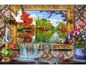 Puzzle Jezioro na zdjęciu