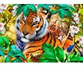 Puzzle Tygrysy w dżungli