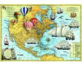 Puzzle Ameryka północna