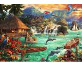 Puzzle Życie na wyspie