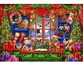 Puzzle Sklep bożonarodzeniowy