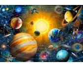Puzzle Układ Słoneczny - PUZZLE DLA DZIECI