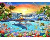 Puzzle Tropikalna zatoka