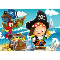 Puzzle Przygoda piratów - PUZZLE DLA DZIECI