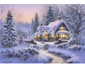 Puzzle Pokrywa śnieżna