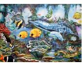 Puzzle Pod wodą