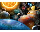 Puzzle Planety i ich księżyce