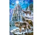 Puzzle Wilki i Zamek