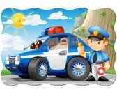 Puzzle Patrol policyjny - MAXI PUZZLE