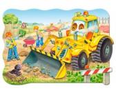 Puzzle Buldożer - MAXI PUZZLE