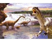 Puzzle Diplodocus - PUZZLE DLA DZIECI