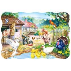 Puzzle Farma - PUZZLE DLA DZIECI