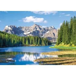 Puzzle Jezioro Misurina