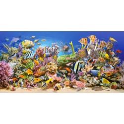 Puzzle Podwodne Życie - PUZZLE PANORAMICZNE