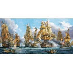 Puzzle Bitwa Morska - PUZZLE PANORAMICZNE